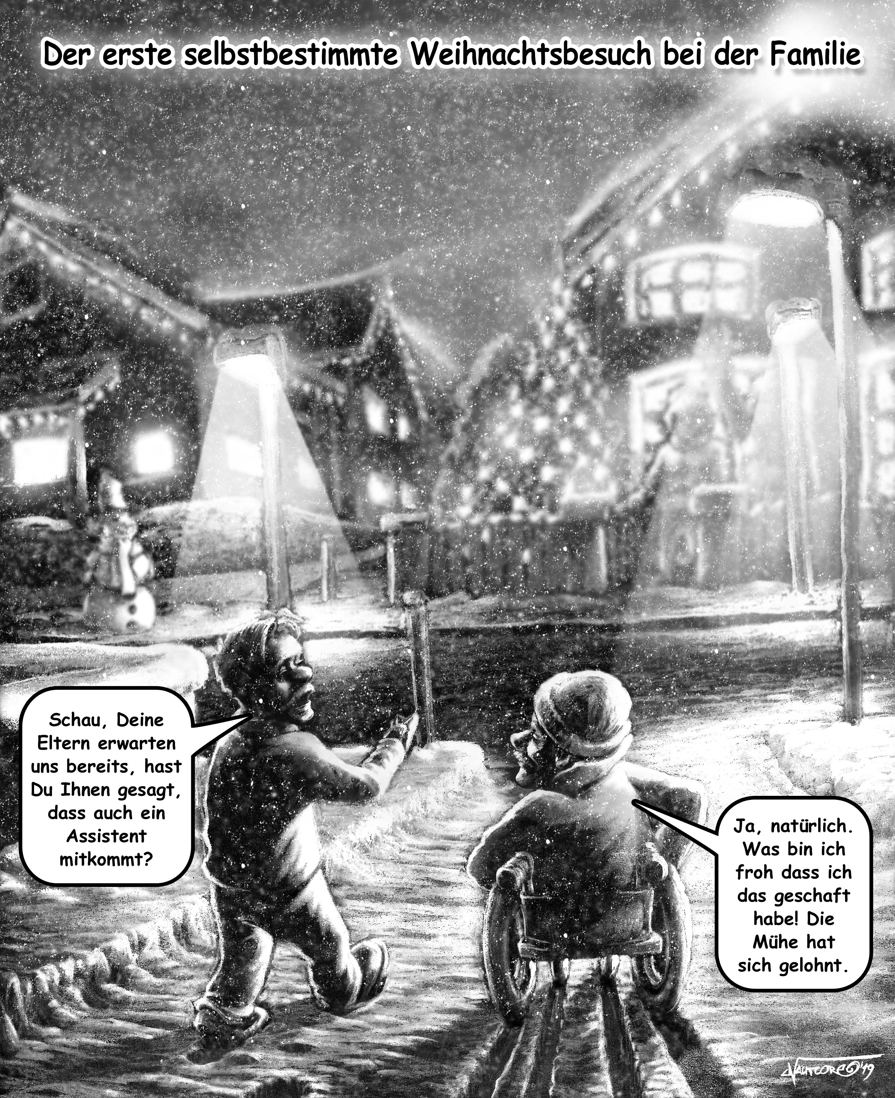 INFORUM-Titelbild zur Weihnachtsgeschichte 2019